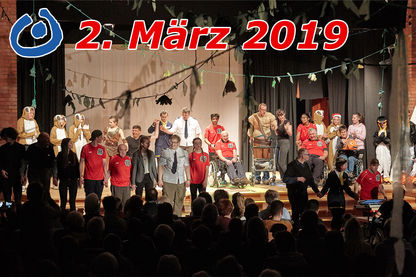 Kunterbunt - Inklusives Theater am 2. März 2019